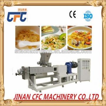 high capacity automatic raw corn flakes machine