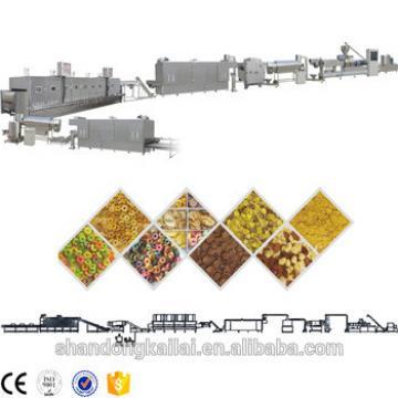 CEChina High Quality Extruded Crispy Sweet Corn Flakes Snack Machine