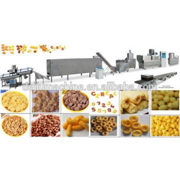 Automatic Extruded cereal and corn flakes making manufacturers machinery/cornflex extruder