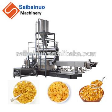 Professional breakfast cereals corn flakes production line