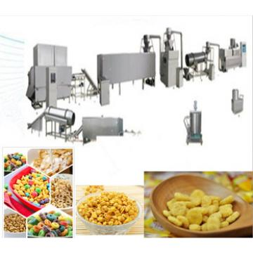 China Automatic Snack Food Breakfast Cereals Processing Machine
