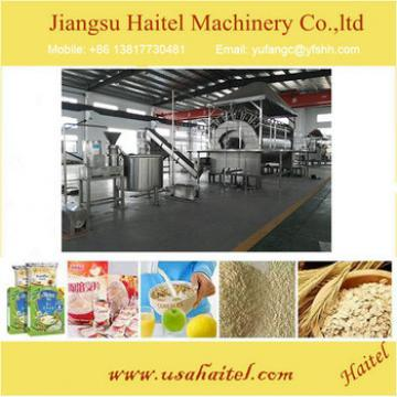 Automatic Breakfast Roasted Corn Flakes Snack Processing Machine