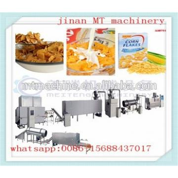 Automatic Roasted Breakfast Cereal Corn Flakes Extrusion Machine