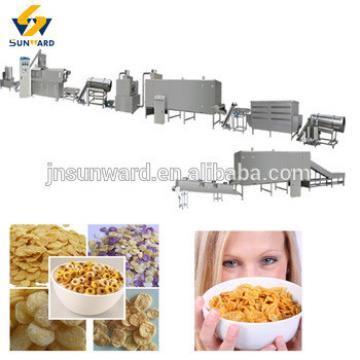 Automatic type breakfast cereal flakes maker, corn flake machine, breakfast processing equipment