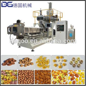 Hot Sale Breakfast Instant Baby Cereals Froost Loops Funko Rings Circles Snack Food Extrusion Process Equipment