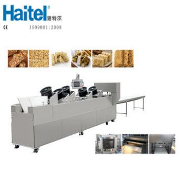 New Arrival PLC Control Crisp Granola Bar Forming Production Line