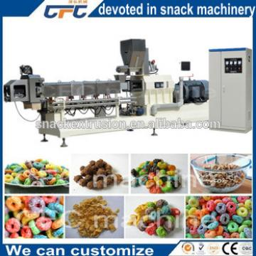Industrial Puff Food Cereals Rice Flakes Machine