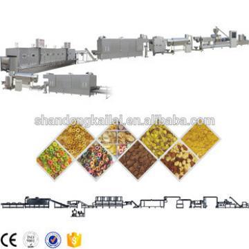 Low Corn Flakes Making Machine Price Corn Flakes Processing Line Corn Pops Machines