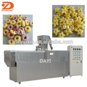 Good quality corn flakes cereal snacks food puffing machine