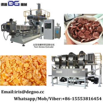 Automatic instant nutritions baby wheat grain cereal breakfast corn snacks food production line/making machines from Jinan DG