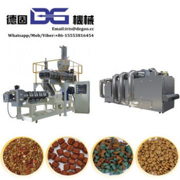 Made in China supplier Shandong Dog fish cat feed snacks food processing equipment line