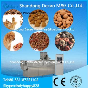Dog food machinery