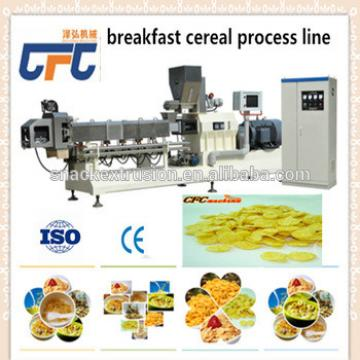 oats corn flakes making machine