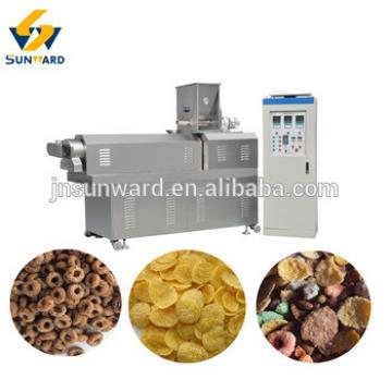 China professional breakfast cereal extruder machine