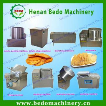 Low cost Potato chips making machine
