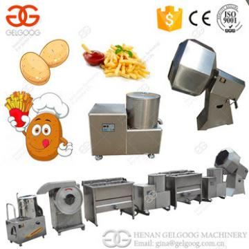 Best Price Potato Flakes Machinery French Fries Potato Chips Making Machine For Sale