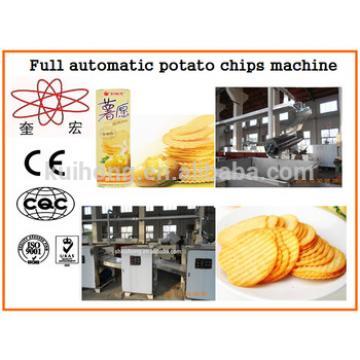 KH-N-baked machine to make potato chips, potato chips making equipment, potato chips line
