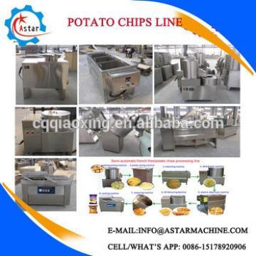 Potato Chips Making Machine with Vacuum Frying Machine