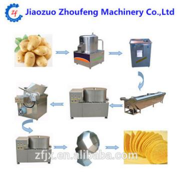 High capacity small scale fry potato chips making machine fresh potato chips or french fries production line machinery