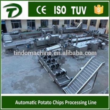 300-500kg/h full automatic potato chips making machine price