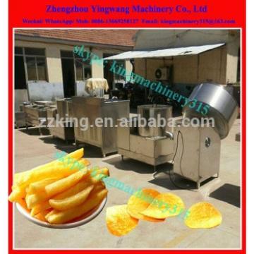 Professional potato french fries making machine