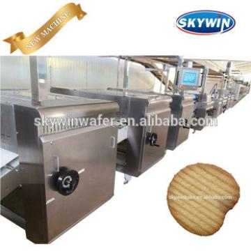 Automatic Manufacturer Biscuit Production Line Price Plant Snack Machine Potato Chips Making Machine