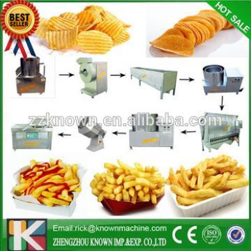 Great performance good quality automatic potato chips making machine price