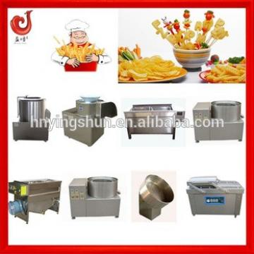 Stainless steel automatic potato chips making machine price
