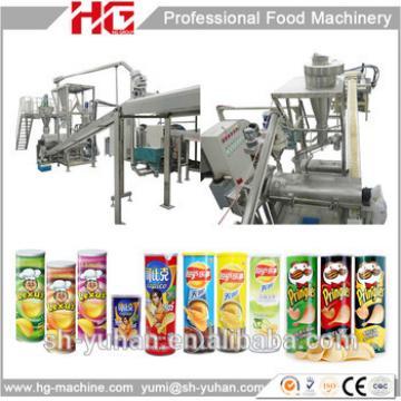 China high capacity Pringles potato chips making machine