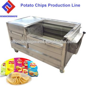 Small Scale Mini Manual Potato Chips Making Machine