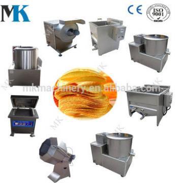 Automatic Fresh Potato Chips Production Line Potato Chips Making Machine