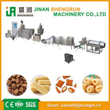 Manufacturing machine for snack food cereal breakfast