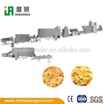 Corn Chips Breakfast Cereal Powder Cereal Snacks Making Machine