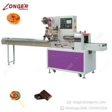 Factory Price Granola Bar Protein Cereal Bars Snacks Pouch Packing Machine Automatic Candy Wrapper Packing Packaging Machine