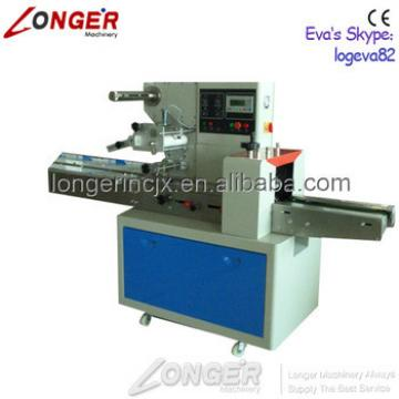 Professional Granola Candy Bar Flow Wrapper Machine | Ice Popsicle Packaging Machine
