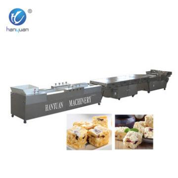 China Made small scale breakfast cereal bar machine snacks processing line Batteries