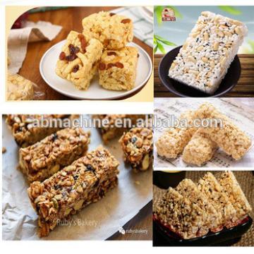 candy forming machine puffed rice cake machine granola bar machine