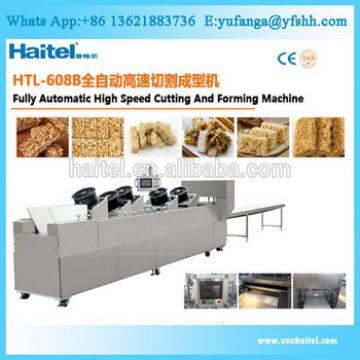 New Design Automatic Peanut Candy Granola Bar Cutting Making Machine