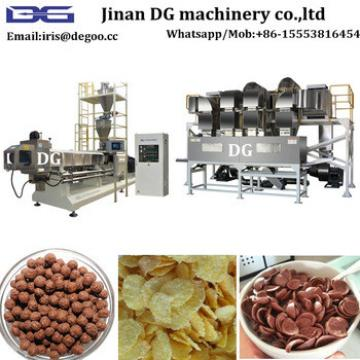 Expanded cereal flakes puffing corn snack food manufacturing equipment/making machine