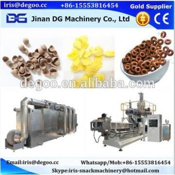 DG high capacity breakfast cereal food machine/corn flakes cereal extruder/breakfast corn