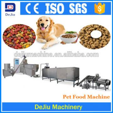 Popular new condition trade assurance dog chews dry pet food processing equipment