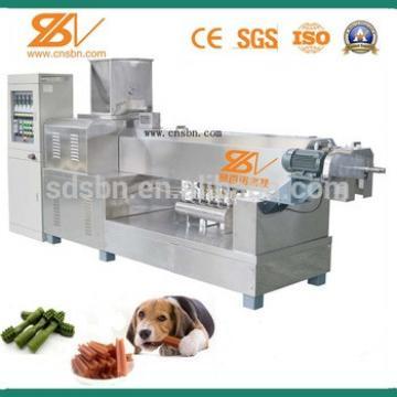 China factory price automatic Dog chews food machine