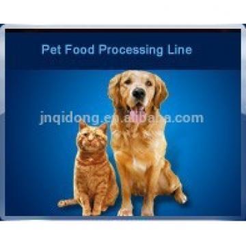 Chewing Jam Center Pet Food Processing Line , Fish / Dog Food Machine