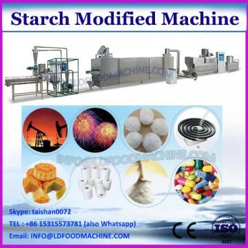 Modified starch screen machine with 99% precision