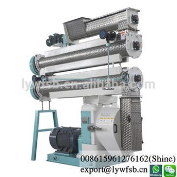 CE 1-30t/h SZLH series ring die stainless steel animal feed pelleting mill machine/pellet making machines