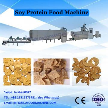 Double screw extruder for soya protein chunks mince machines maker equipment line