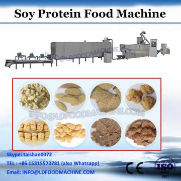 2018 new type tvp textured soy protein chunks making machine with various materials