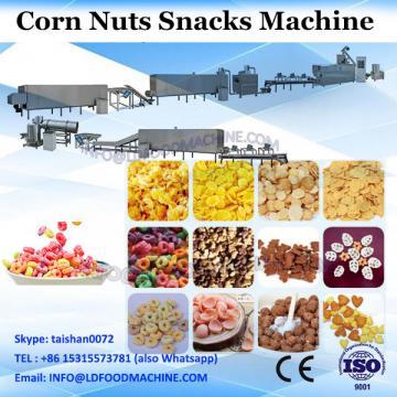 Hot Air Breakfast Cereal Corn Flakes Snacks Puffed Machine