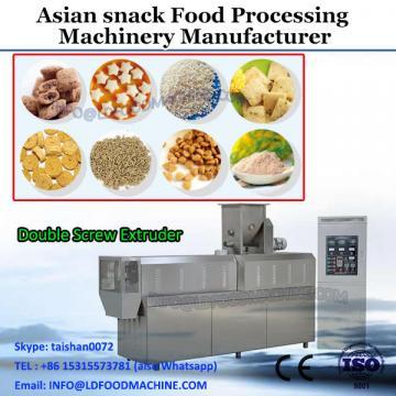 Twin screw extruder corn snacks food processing machine