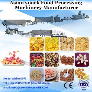 single screw extruder fried pellet chips snack food processing line